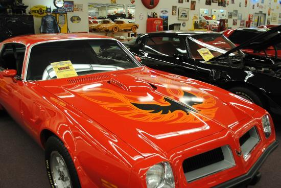 Muscle Car City Museum: Sweet Firebird.