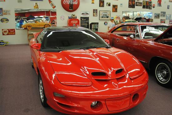 Muscle Car City Museum: There was a handful of much newer cars. But not many.