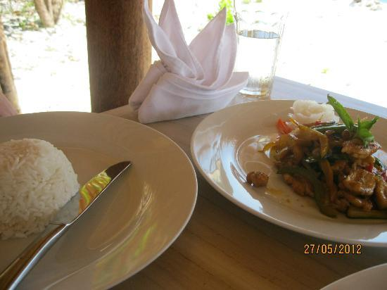 MAHAMAYA Boutique Resort: Indonesian food