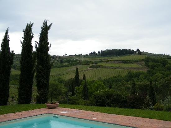 B&B Fagiolari: overlooking the grounds by the pool