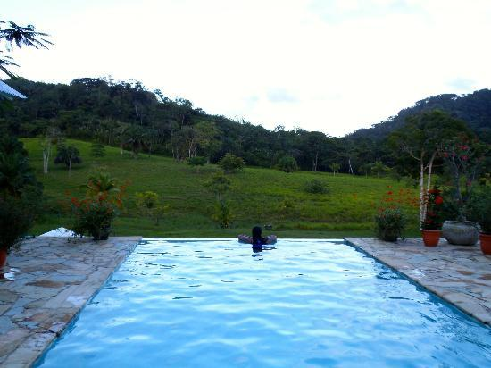 Sirmoor Hill Farm Bed and Breakfast: Infinity Pool