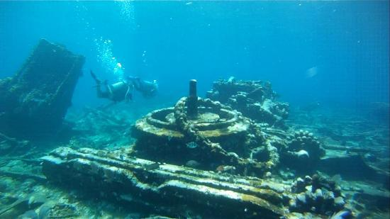 Wreck diving in Banco Chinchorro. - Picture of XTC Dive