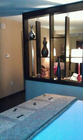 Cambria hotel & suites Indianapolis Airport: partial view of suite
