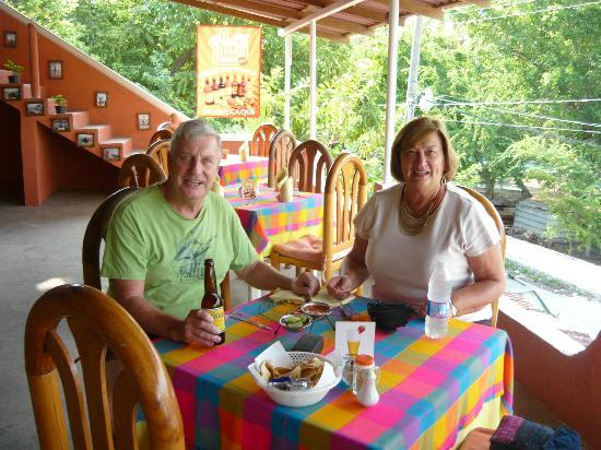 Lety's Restaurant: At Letys in Zihuatanejo