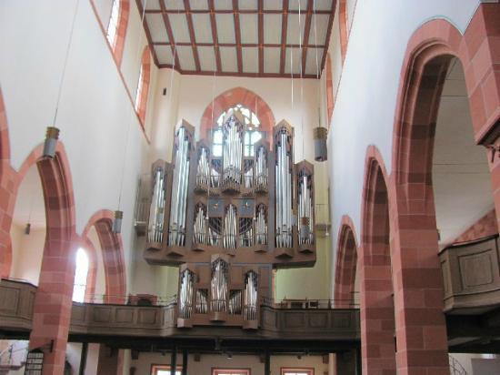 Evangelische Stiftskirche: choir