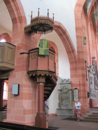 Evangelische Stiftskirche: chancel