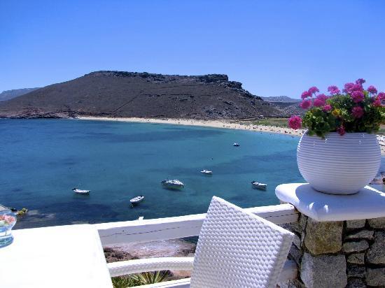 Panormos Village: Restaurant view 