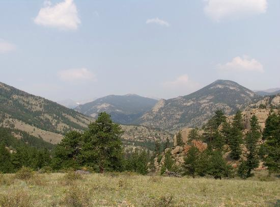 Elkhorn Lodge and Guest Ranch: view from horse ride