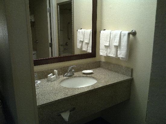 SpringHill Suites Laredo: Bathroom sink