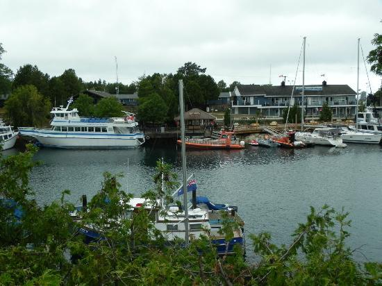 Tobermory Princess Hotel : View from the front door