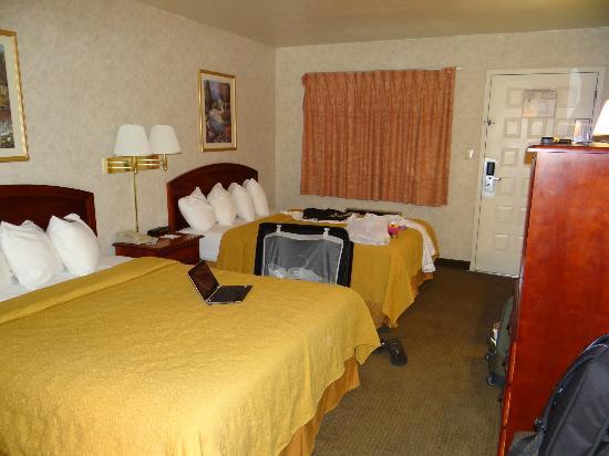 Quality Inn I-40 & I-17 : lits