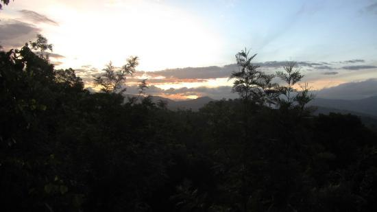 Thekkady Wild Corridor: Sunrise captured from balcony