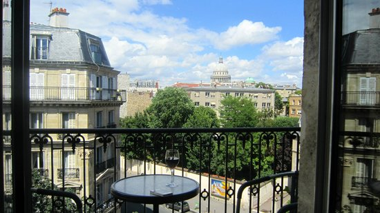 Hotel Le Relais Saint Jacques : view from balcony