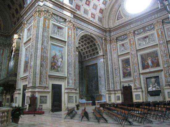 Mântua, Itália: transept