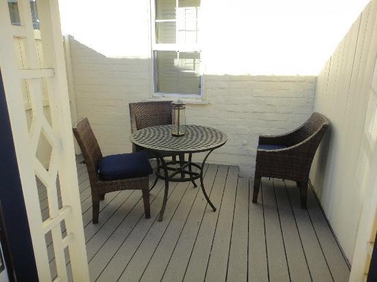 The Brentwood Inn: Private patio