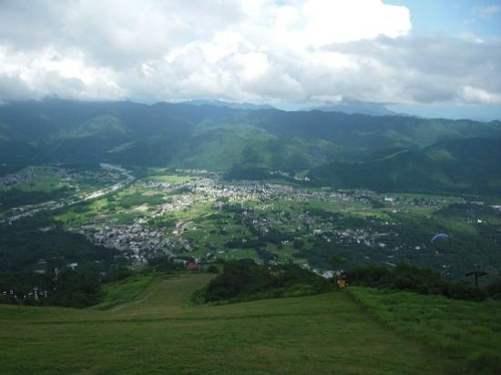 Happoone: 上から見た風景 