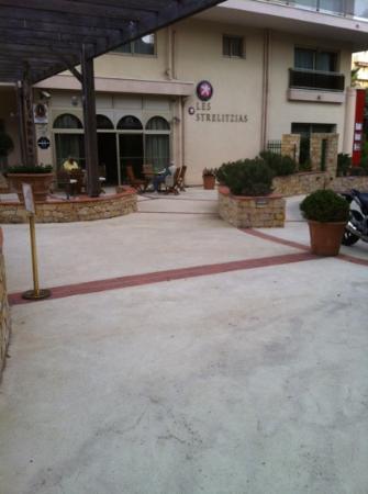 Les Strelitzias : l'hôtel
