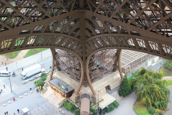 58 Tour Eiffel: view