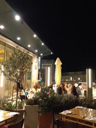 the terrace facing the restaurant. - photo de la cucina del sole ... - La Cucina Del Sole