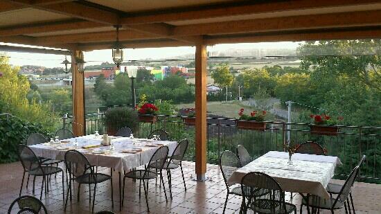 Melfi, Italy: il terrazzo