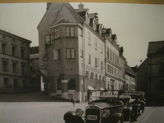 "Clarion Hotel Wisby: Hotellet förr i tiden "" Wisby Stadshotell "" år ??"