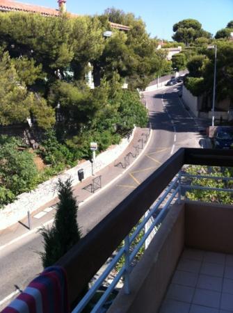 BEST WESTERN Hotel La Rade: la vue...