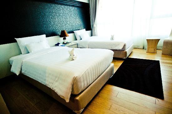 A-Te Chumphon Hotel: Standard room