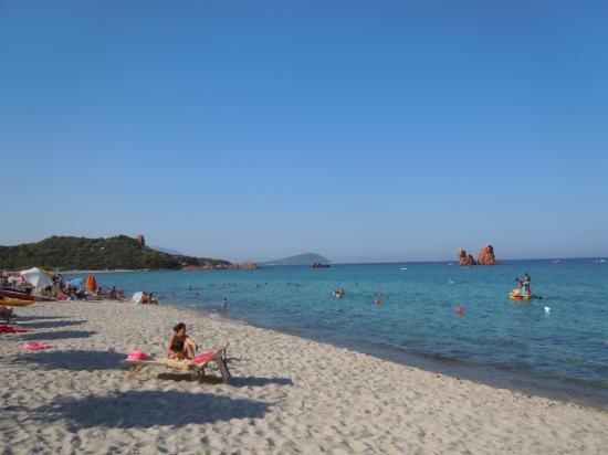one of the beaches of Bari Sardo area