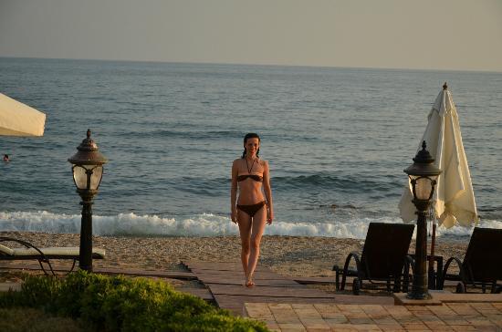 Villa Augusto: Hotel's beach