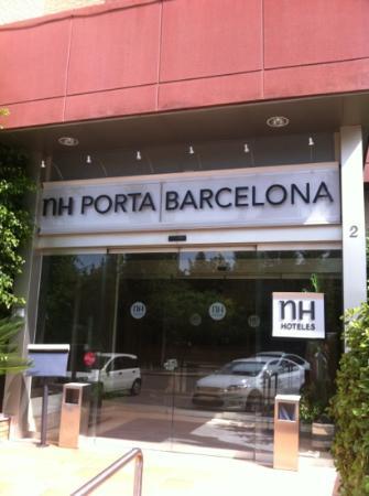 NH Porta Barcelona: entrada Nh