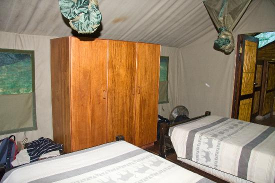 Mpila Camp: Safari Tent