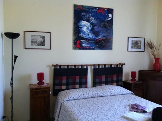 Bed & Breakfast Orti di Trastevere: camera papavero