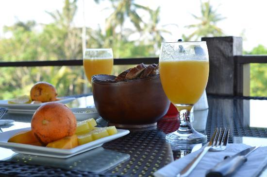 Balam Bali Villa: Frühstück