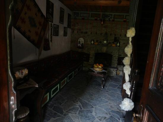 Selanik Pansiyon: Le salon ancien
