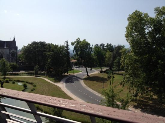Hotel Parc Beaumont: terrasse de la 402