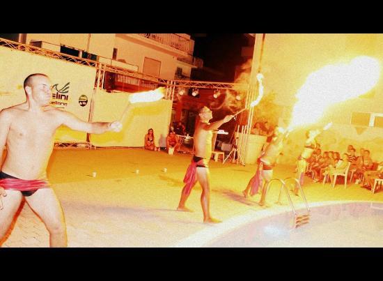 Club Hotel Angelini: fuoco