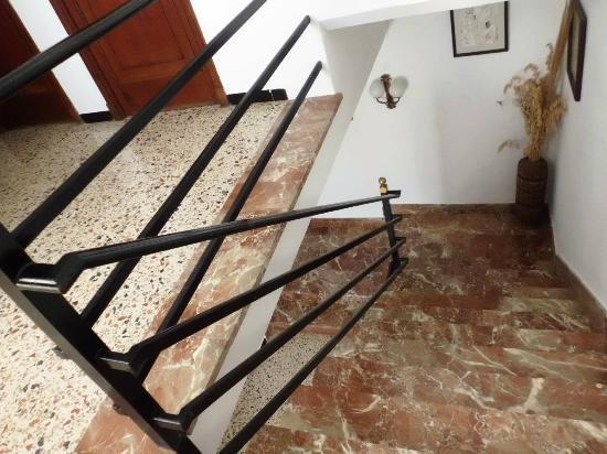 Hotel Talamanca : stairs