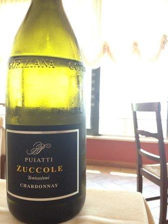 Ristorante La Cia: ottimo Chardonnay e panorama