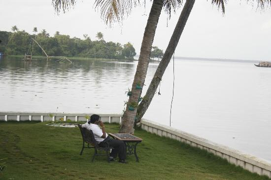 Lemon Tree Vembanad Lake Resort: just chilling