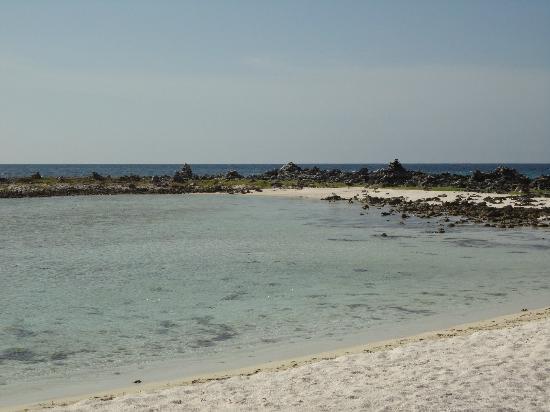 Carenero Island: una delle lagune interne