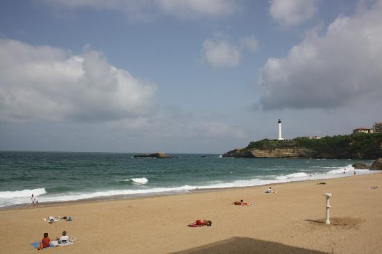 Hotel Escale Oceania Biarritz: Grand Plage