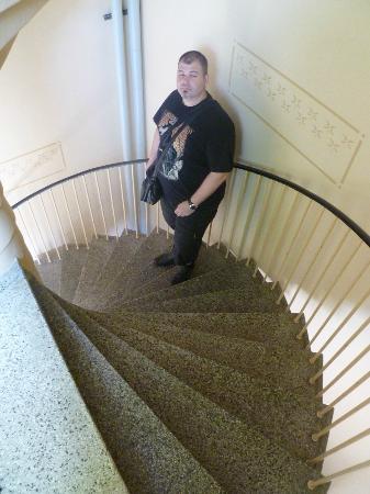 ApartHotel Attache : Si se te ocurre bajar por las escaleras, asi son.