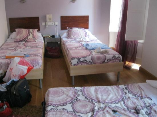 Hotel un Patio en Santa Cruz : our triple room
