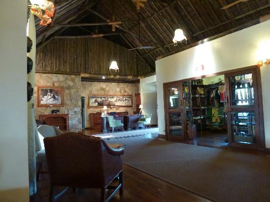 Neptune Ngorongoro Luxury Lodge : L'espace accueil...