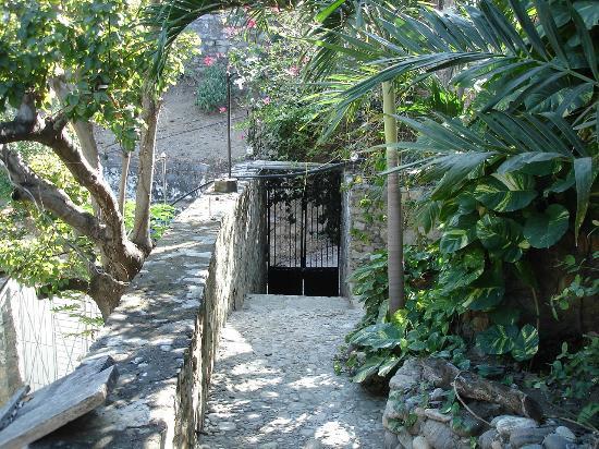 Monte Cristo Bungalows: Où nous pouvions entrer et sortir avec nos clés. Sécurité absolue !