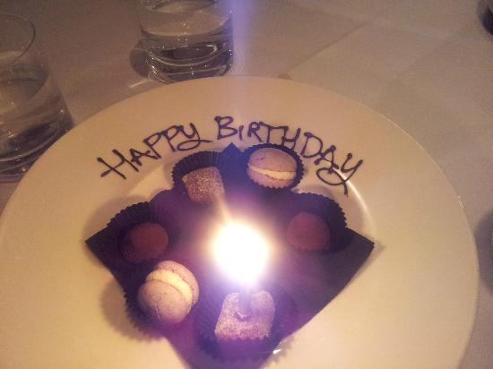 The Restaurant at Drakes: A Birthday Surprise!