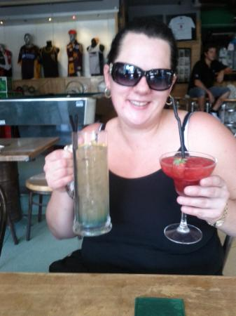Stadium Cafe Kuta: What two drinks..