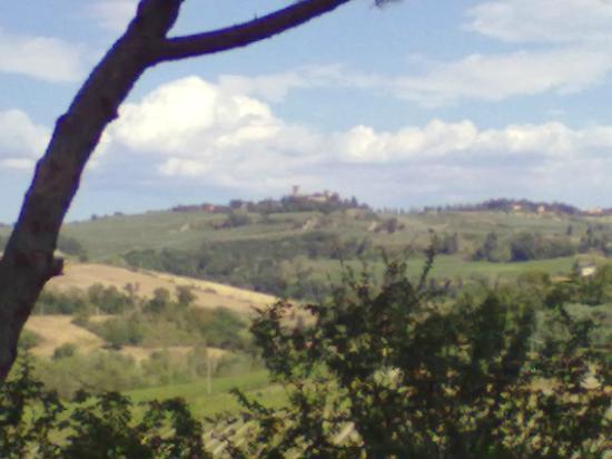 Le Mandrie di Ripalta: Panorama dalla terrazza della camera2
