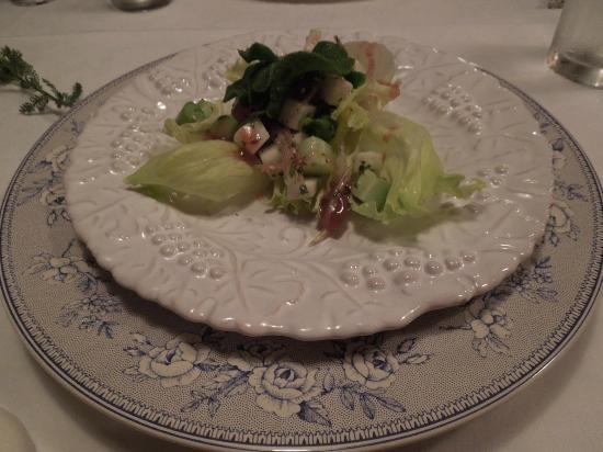 Country Inn Orchard House : 夕食のオードブル