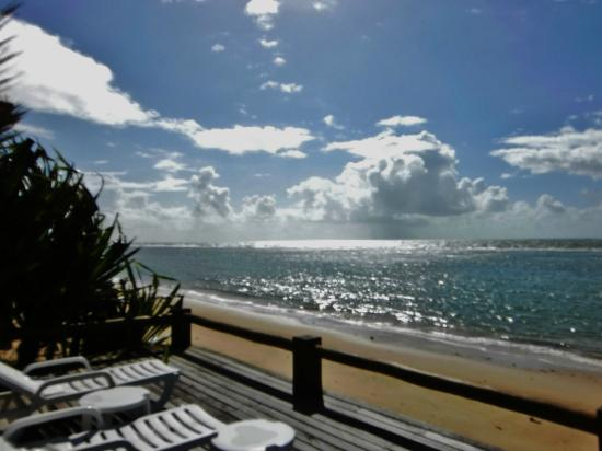 Pousada Pitinga: Vue de la terrasse de l'Hotel